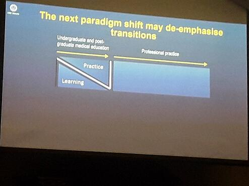 Deemphasising transitions in medical education