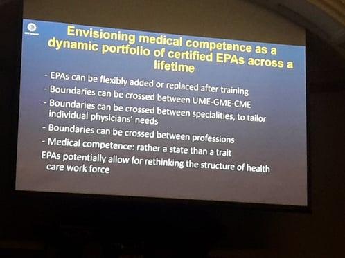Portfolio of certified EPAs
