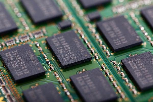 memory chip board